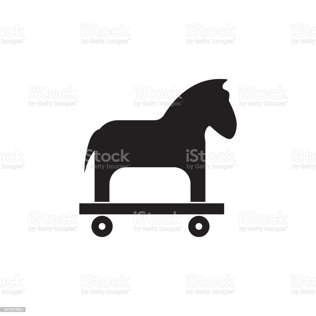 Trojan Horse Icon Elements Of Cyber Security Icon Premium Quality Graphic Design Signs And Symbols Collection Icon For Websites Web Design Mobile App Info Graphics Stock Illustration Download Image Now Istock