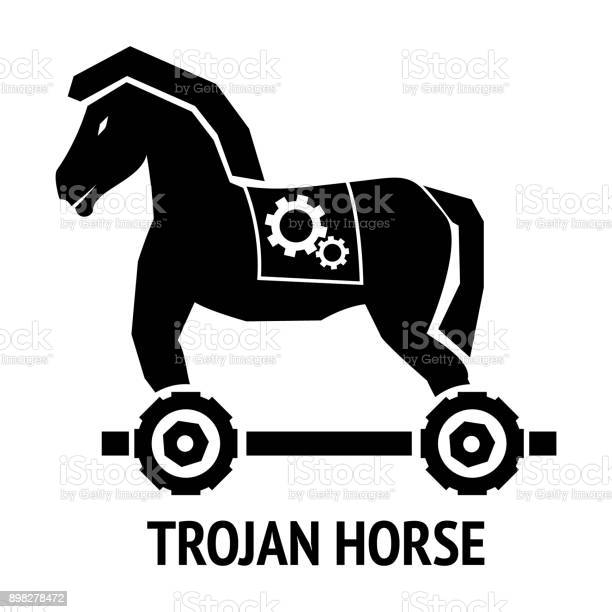 Trojan horse malware virus computer sign isolated on white background vector id898278472?b=1&k=6&m=898278472&s=612x612&h=o3ciwoam9v1kwn s4ar8iyyj91mzayvlr4n7xuj1ssc=