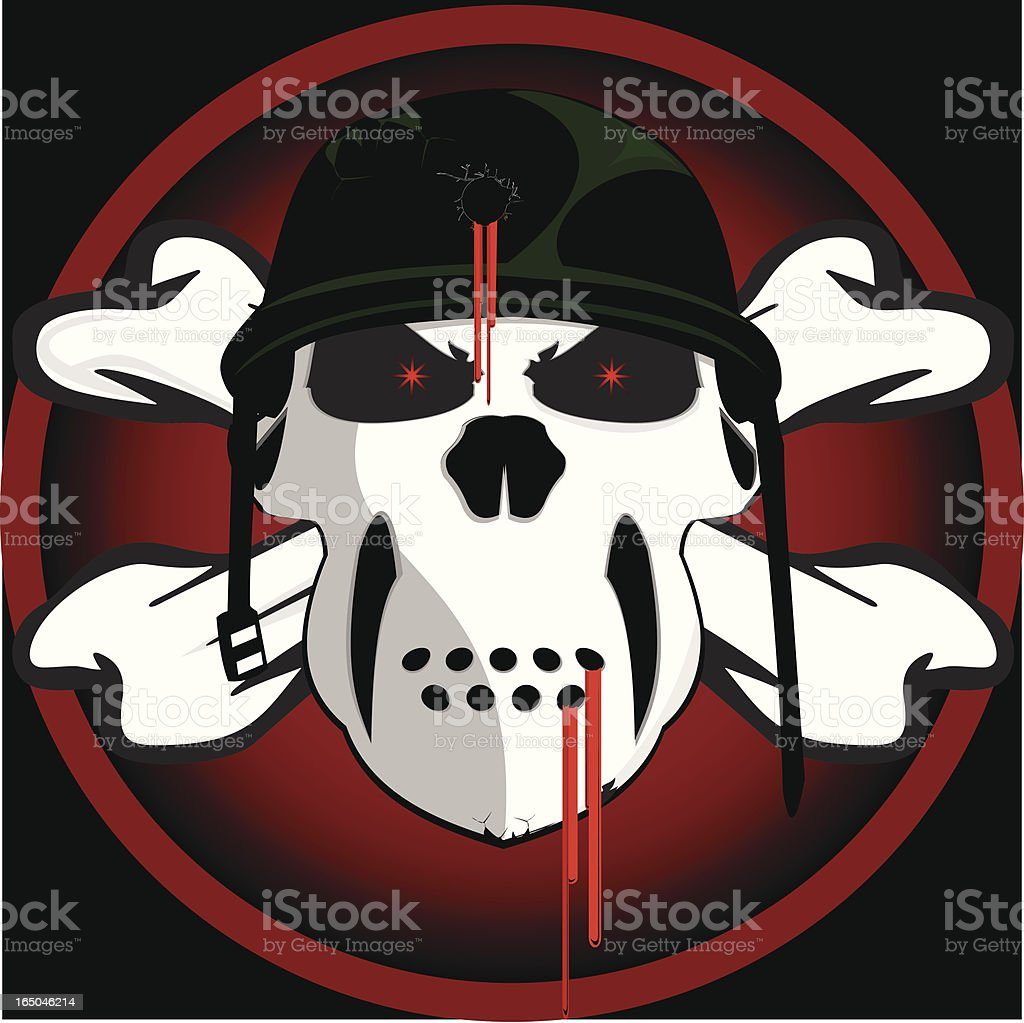 Trooper skull royalty-free trooper skull stock vector art & more images of armed forces
