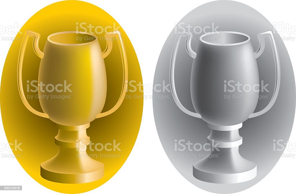 trophies royalty-free trophies stock vector art & more images of award