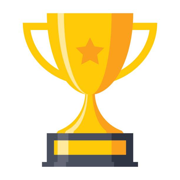 ilustrações, clipart, desenhos animados e ícones de copa do troféu ícone - troféu
