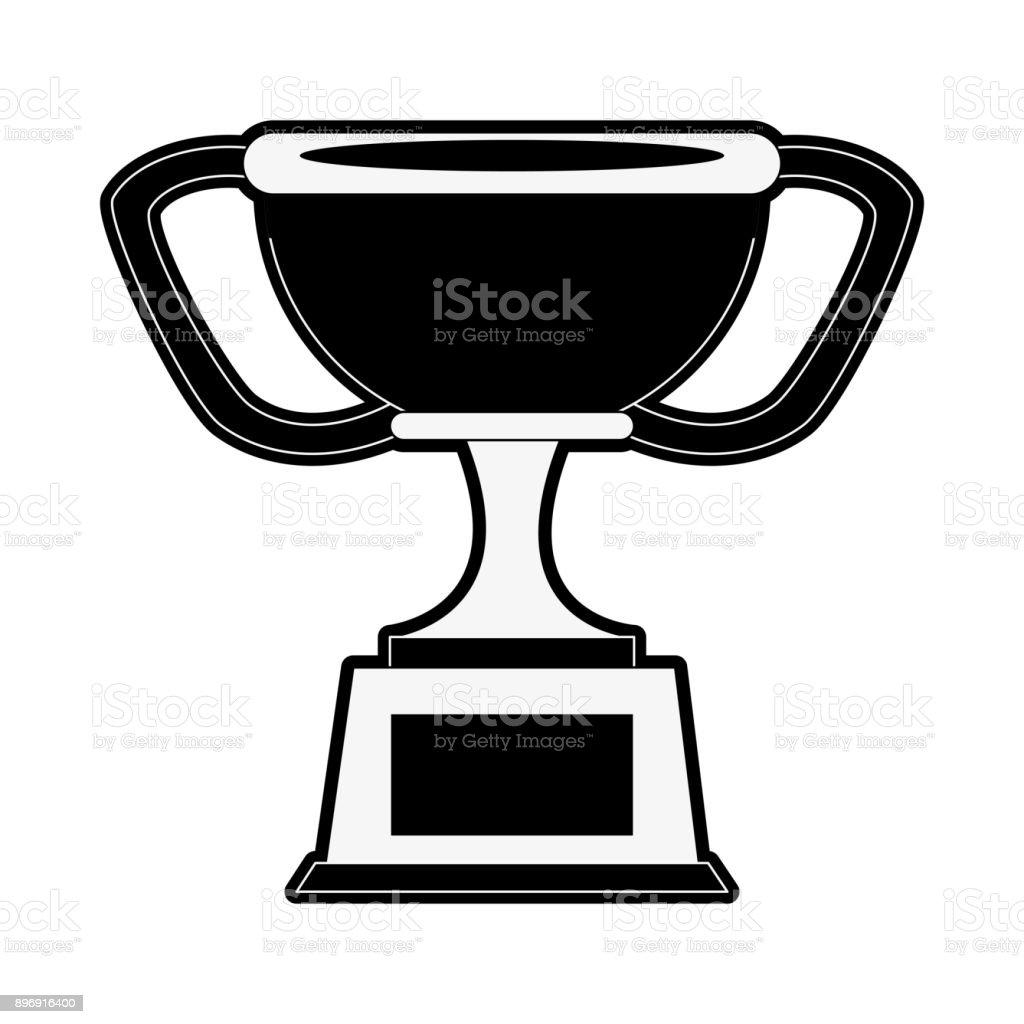 Trophy Cup Symbol Stock Vector Art More Images Of Achievement