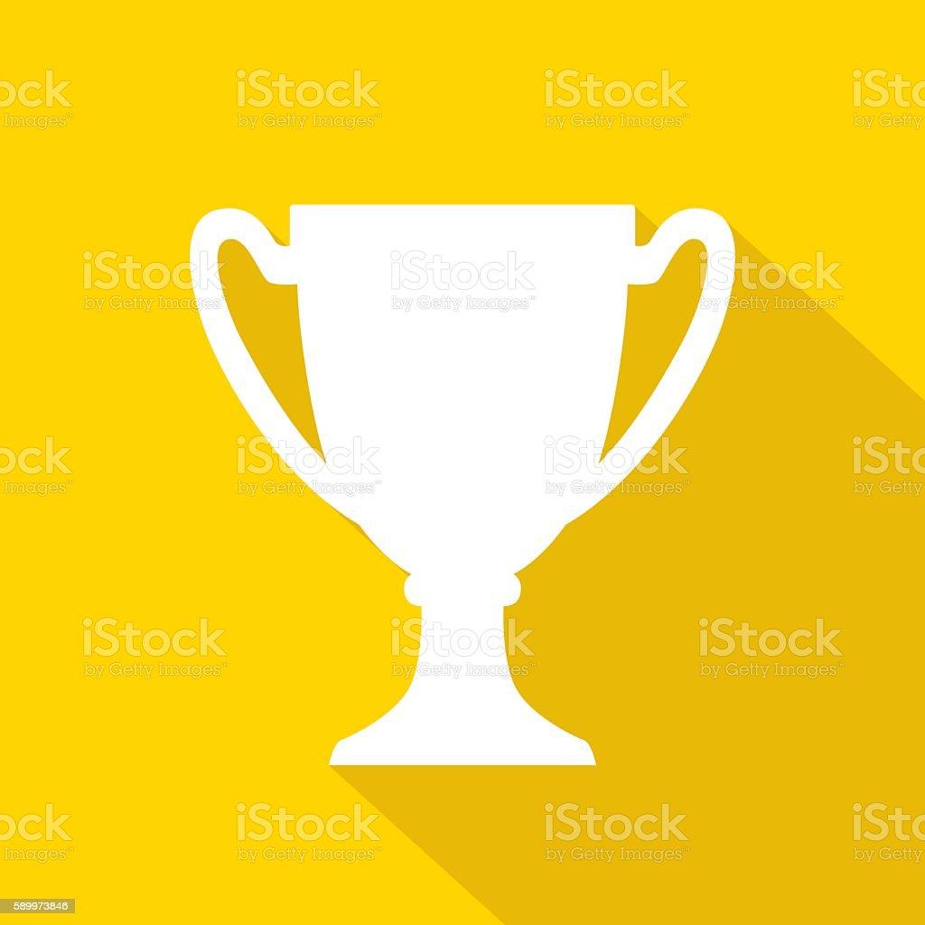 Trophy Icon White