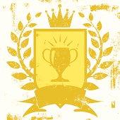trophy shield insiginia