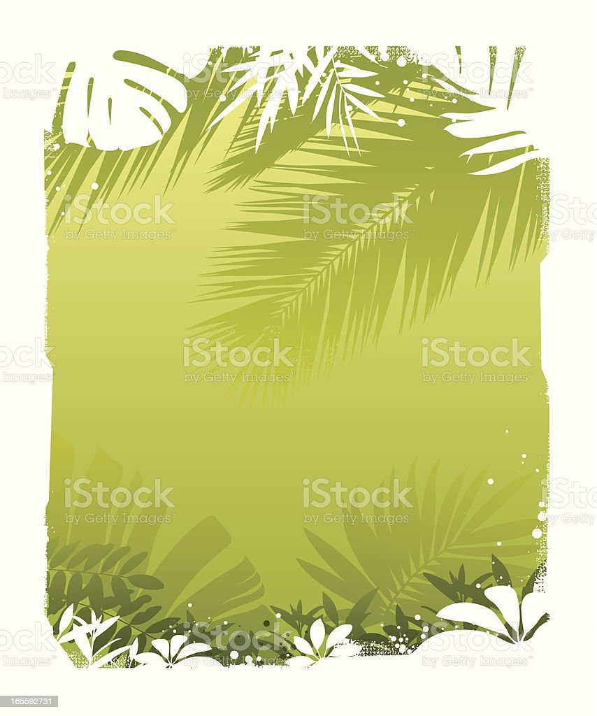 Tropic background royalty-free stock vector art