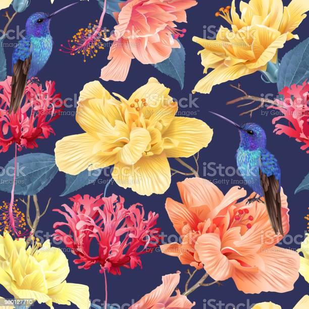 Tropic floral pattern vector id980127710?b=1&k=6&m=980127710&s=612x612&h=03m1t asnqy1jserpugbstssfdbuv69izqtws57unfe=