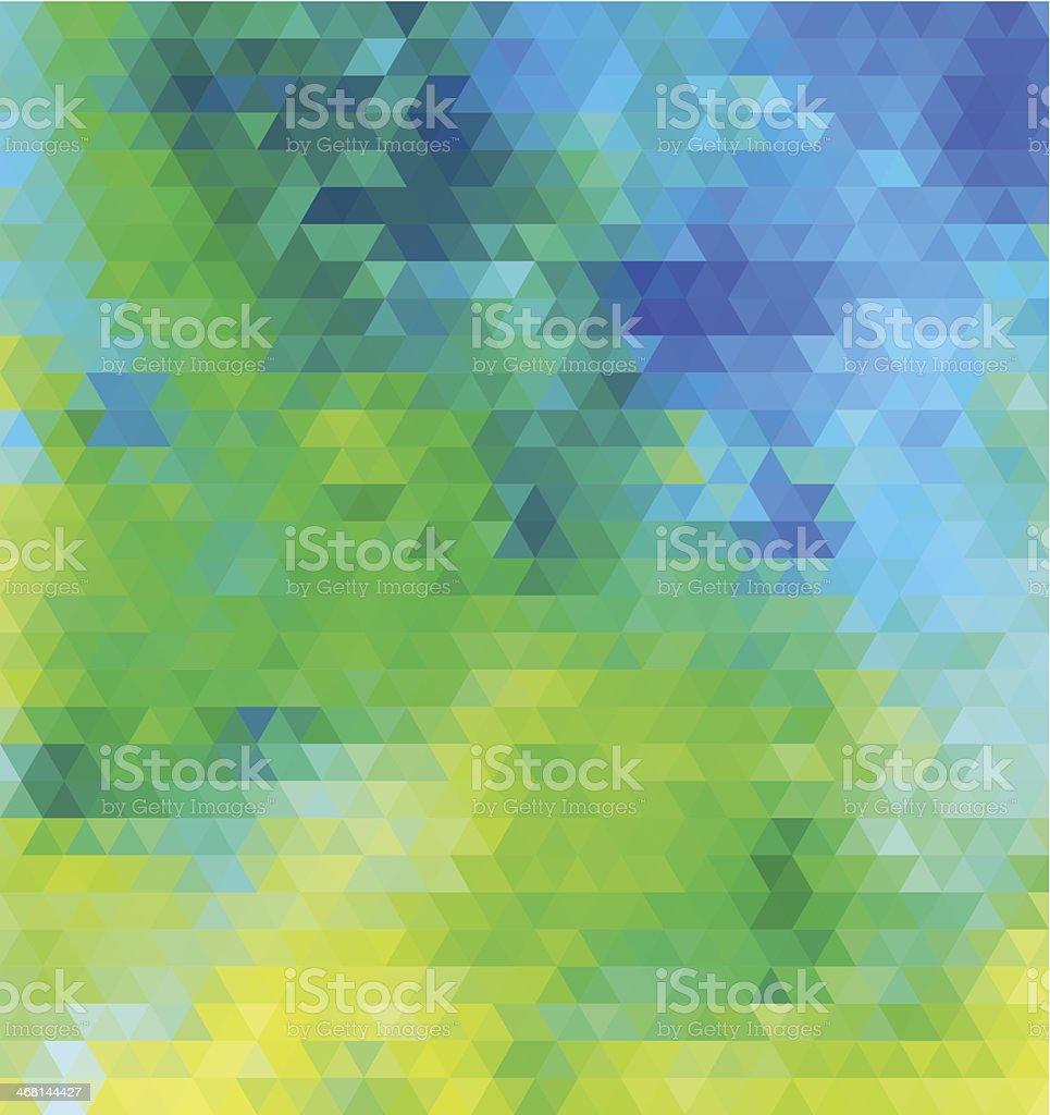 Tropic sea vector art illustration