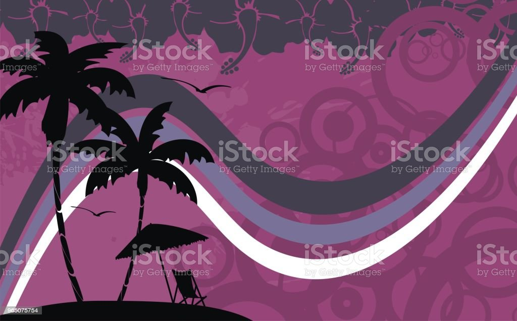 tropic summer hawaiian background royalty-free tropic summer hawaiian background stock vector art & more images of abstract