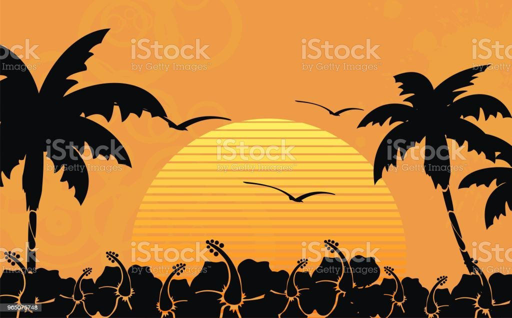 tropic summer hawaiian background1 royalty-free tropic summer hawaiian background1 stock vector art & more images of abstract