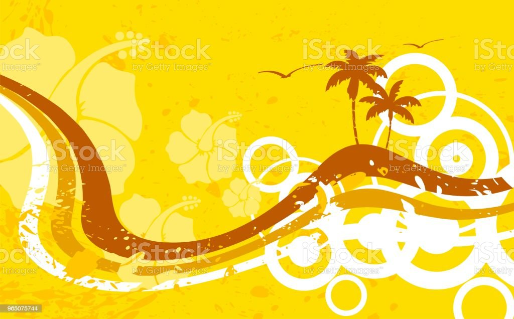 tropic summer hawaiian background2 royalty-free tropic summer hawaiian background2 stock vector art & more images of abstract