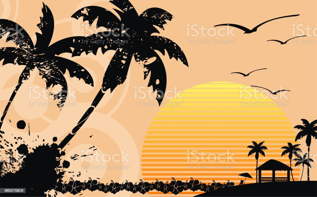 tropic summer hawaiian background7 royalty-free tropic summer hawaiian background7 stock vector art & more images of abstract