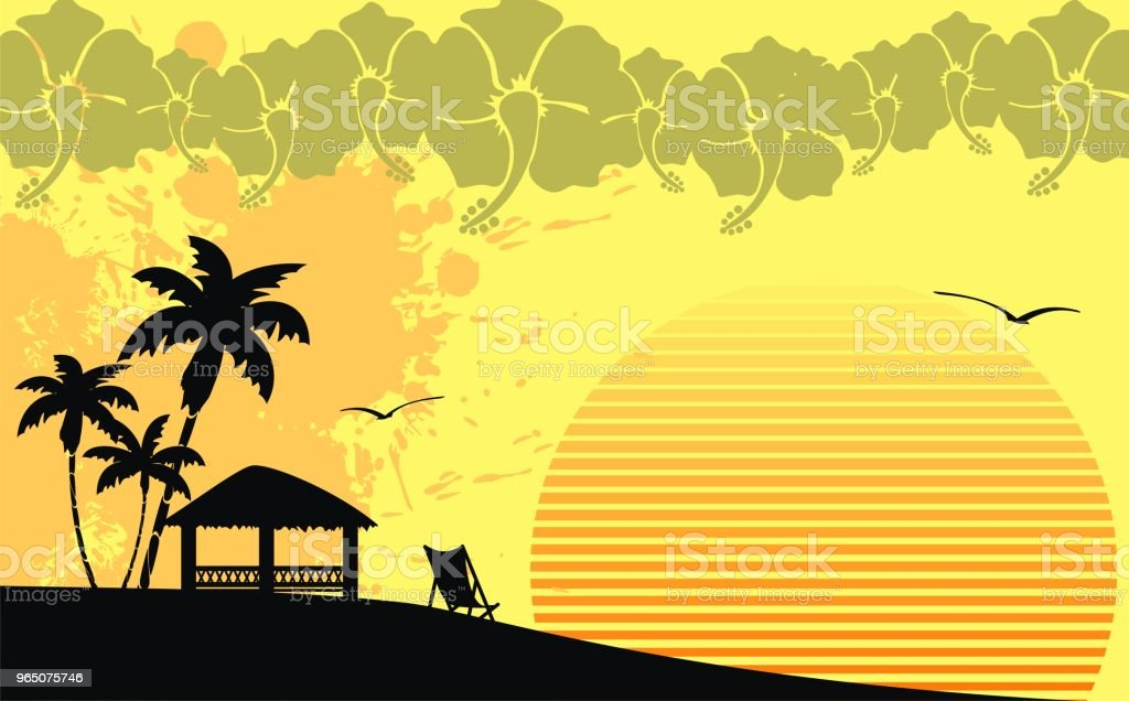 tropic summer hawaiian postal royalty-free tropic summer hawaiian postal stock vector art & more images of abstract