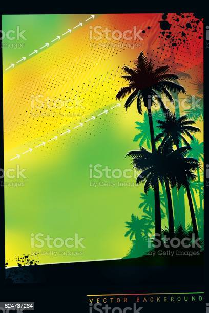 Tropical background with palm trees in colors of jamaica flag vector id824737264?b=1&k=6&m=824737264&s=612x612&h=uh9hk0bwplomhm zxyizgyqdu9pjoqde kf8nryoryg=