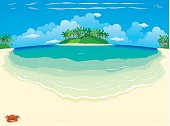 Tropical Beach & Island - Wide