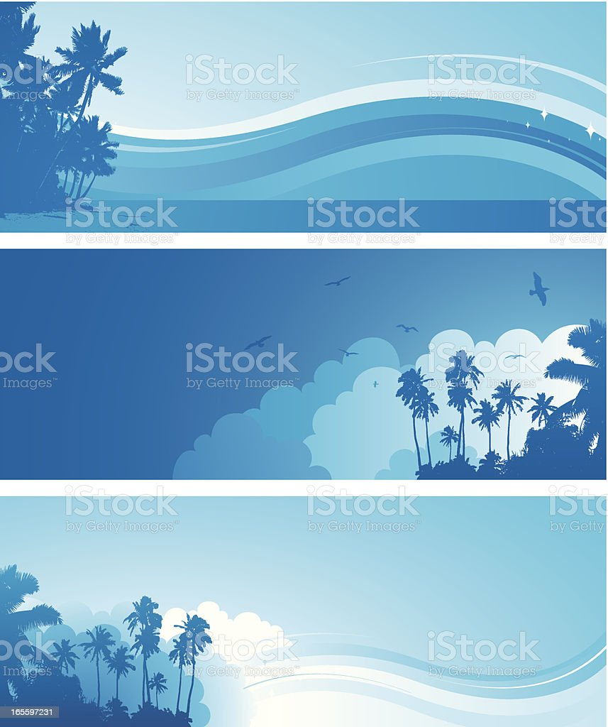 Tropical blue royalty-free tropical blue stock vector art & more images of backgrounds