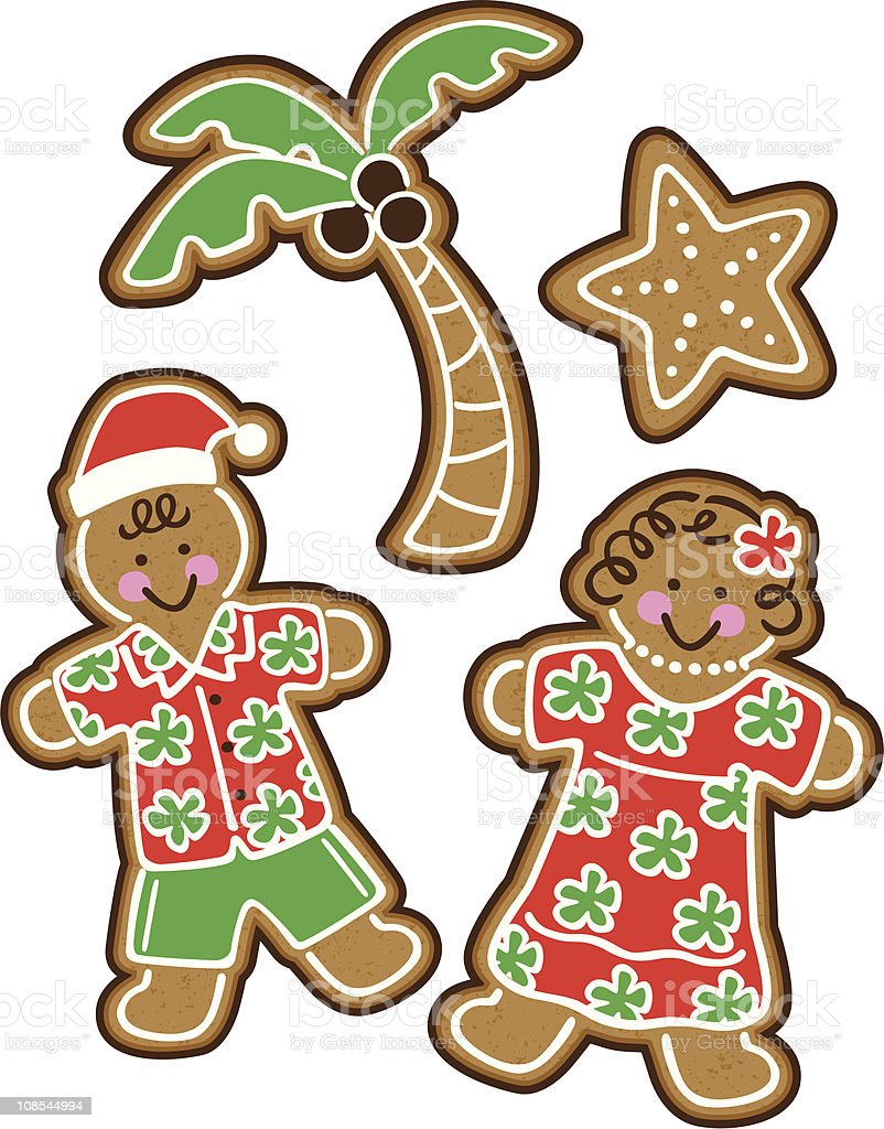 royalty free hawaiian christmas clip art vector images rh istockphoto com  hawaiian christmas clip art free