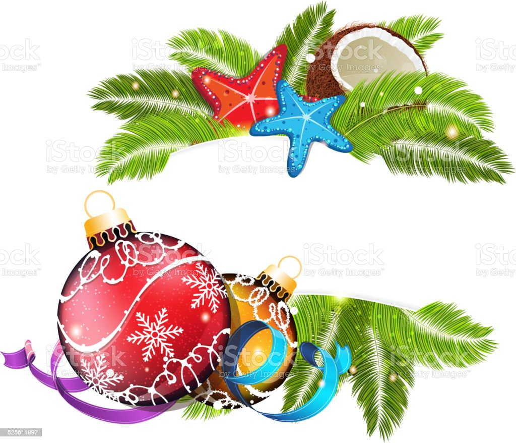 royalty free beach christmas clip art vector images