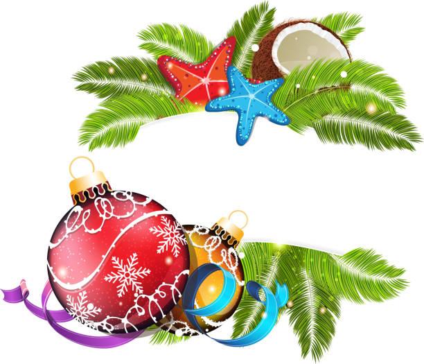royalty free beach christmas clip art vector images