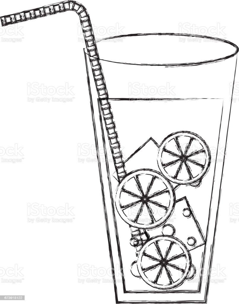 icône isolé cocktail tropical icône isolé cocktail tropical – cliparts vectoriels et plus d'images de alcool libre de droits
