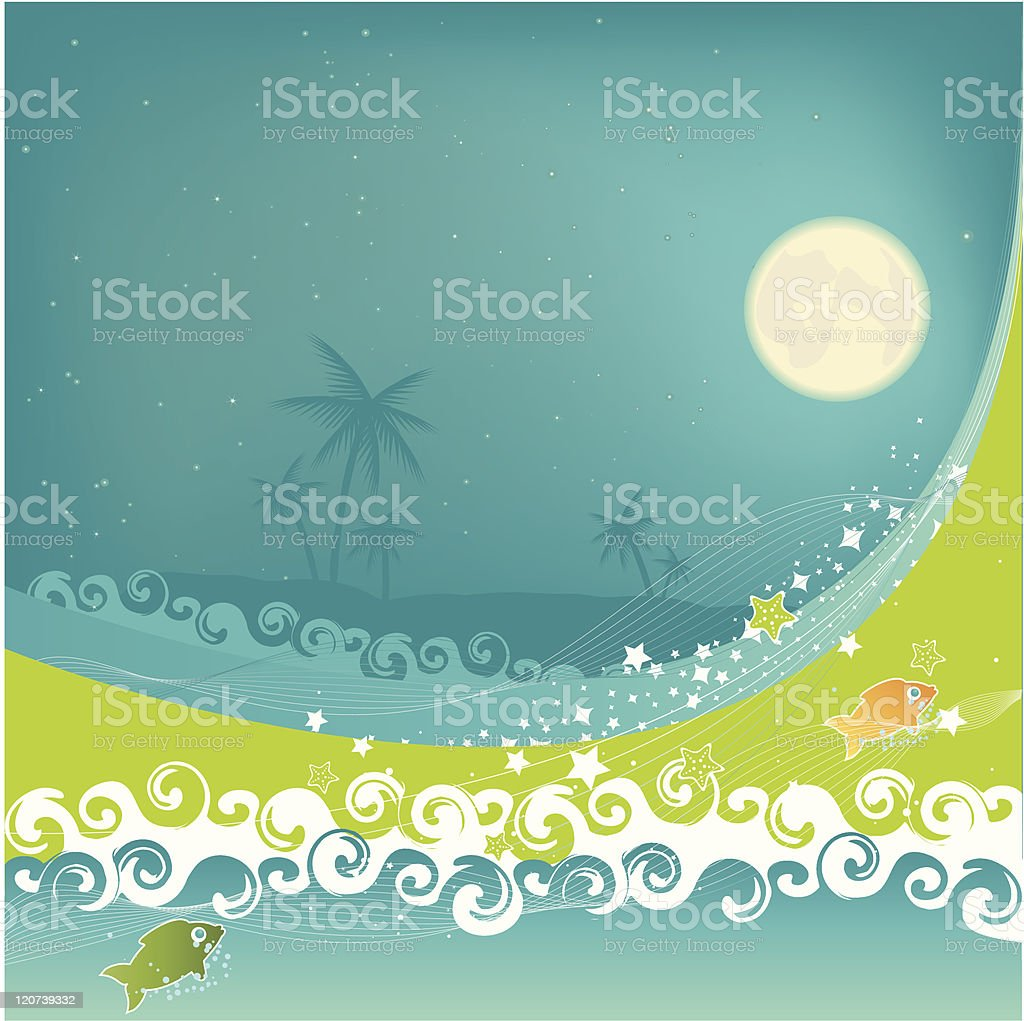 Tropical Dream royalty-free stock vector art