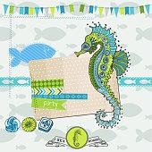 Tropical Fish and Sea Horse Theme