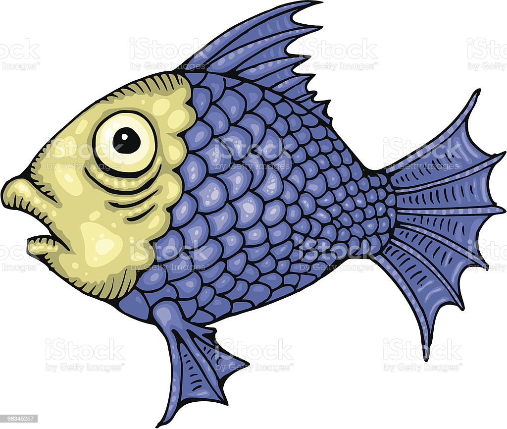 Tropical Fish royalty-free tropical fish stock vector art & more images of blue