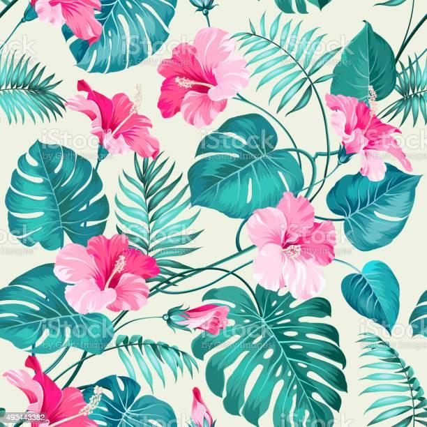 Tropical flower pattern vector id493443382?b=1&k=6&m=493443382&s=612x612&h=gl31sfk4kjw2bt0o8kfp2dsqjck7vfibcb9wquzg1h4=