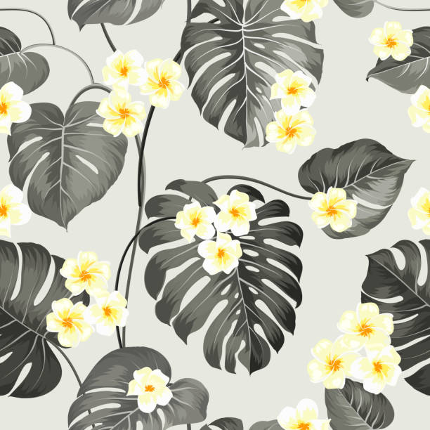 Royalty free silhouette of the gray and yellow flower pattern clip silhouette of the gray and yellow flower pattern clip art vector images illustrations mightylinksfo