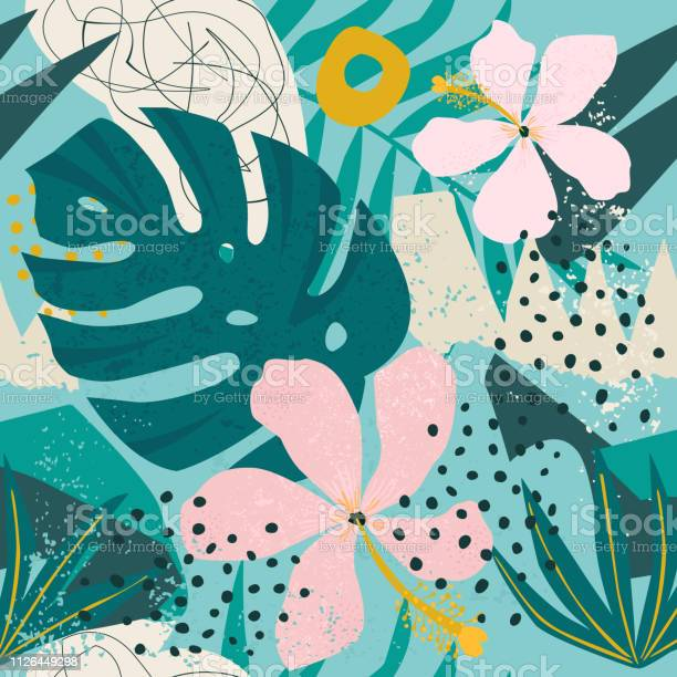 Tropical flowers and palm leaves on background seamless vector id1126449298?b=1&k=6&m=1126449298&s=612x612&h=tduaf4iowxvt7l 7pf0mlhoe7clqgsongo ad bip3c=