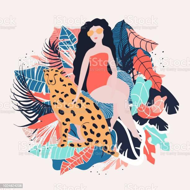 Tropical girl poster vector id1024824206?b=1&k=6&m=1024824206&s=612x612&h=ft4tq pq95f3svej8zgb7zow2felya9yjphgejimqkk=