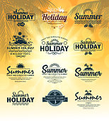 drawn of vector tropical holidays.This file has been used illustrator CS3 EPS10 version feature of multiply.