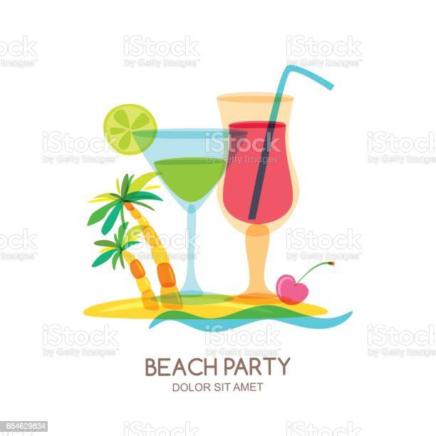 Tropical island landscape with cocktail glass and palm tree vector vector id654629834?b=1&k=6&m=654629834&s=612x612&h=oxmtbvzemsvcw8gltjyg2zhcu2f3wjsneuv2rurnmgm=
