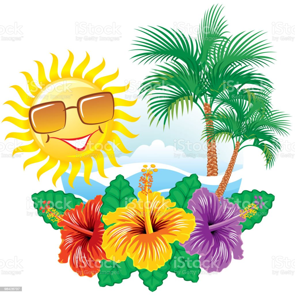 Tropical label royalty-free tropical label stock vector art & more images of cheerful