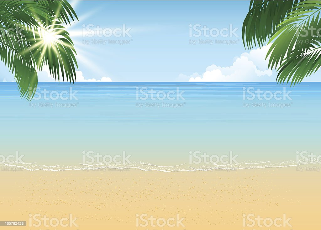 Tropical landscape royalty-free tropical landscape stock vector art & more images of abstract