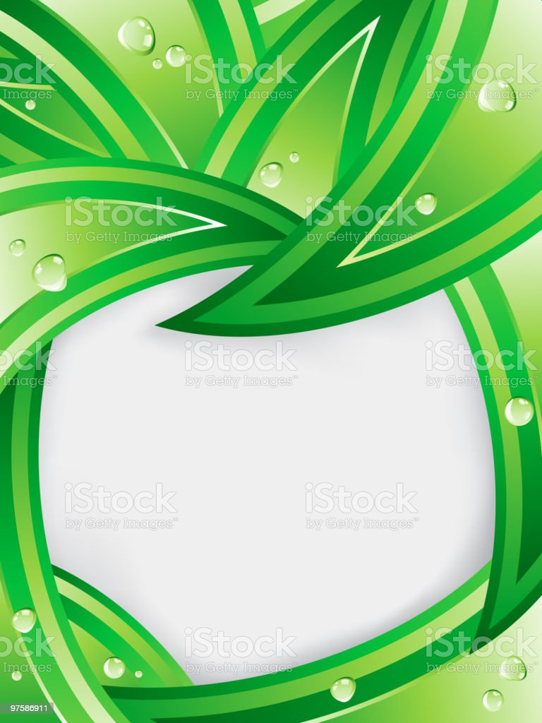 Tropical Leaves Ecology Background. royalty-free tropical leaves ecology background stock vector art & more images of abstract