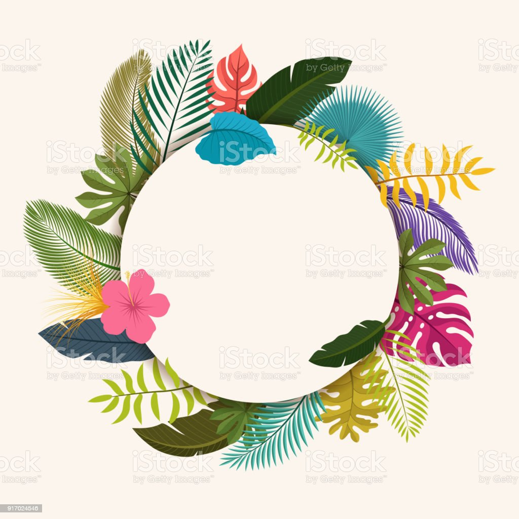 Tropical Leaves Floral Vintage With Space For Text Easy To Edit Suitable For Invitation Nature Concept And Other Vector Illustration Stock Illustration Download Image Now Istock Find images of tropical leaves. tropical leaves floral vintage with space for text easy to edit suitable for invitation nature concept and other vector illustration stock illustration download image now istock