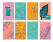 istock Tropical leaves templates 1196201461