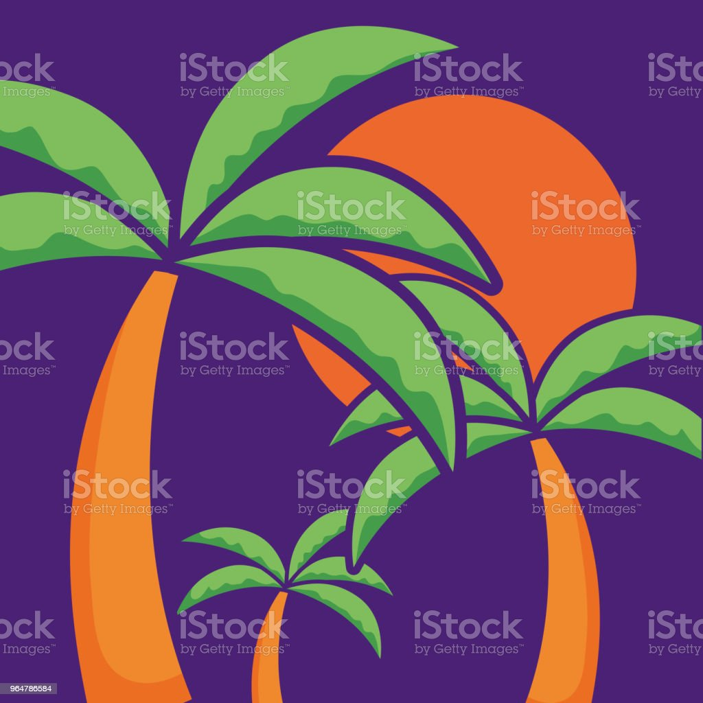 tropical palm design royalty-free tropical palm design stock vector art & more images of beauty