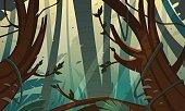 Tropical Rainforest Jungle