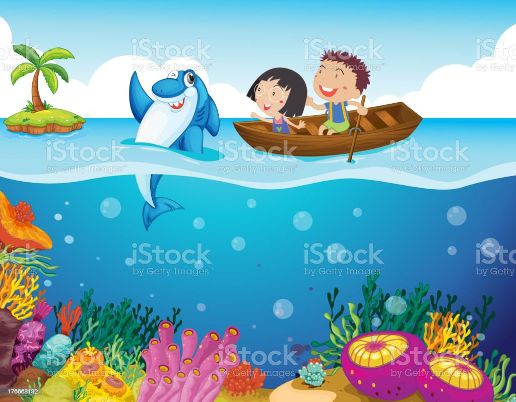 Tropical scene royalty-free tropical scene stock vector art & more images of animal