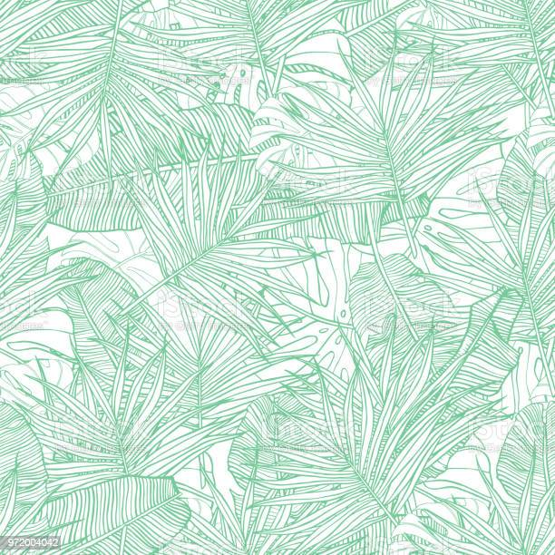 Tropical seamless pattern texture with banana leaves palm and hand vector id972004042?b=1&k=6&m=972004042&s=612x612&h=4fekgqkvqxp7tc6w9azyh zh2a1i7cnx0tnhk15k ky=