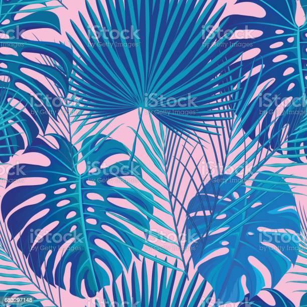 Tropical seamless pattern with exotic palm leaves vector id683297148?b=1&k=6&m=683297148&s=612x612&h=vrmgnmr3vxtfwnlxazlkulyz7ze0uygi9q utapqwwu=