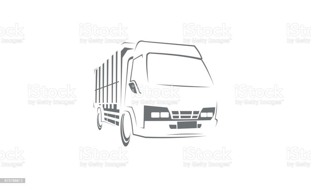 Modèle de voiture camion modèle de voiture camion – cliparts vectoriels et plus d'images de affaires finance et industrie libre de droits
