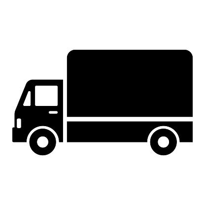 Truck icon illustration material / vector