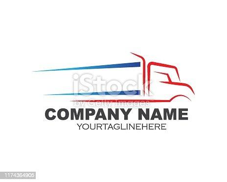 istock truck icon logo vector illustration design 1174364905