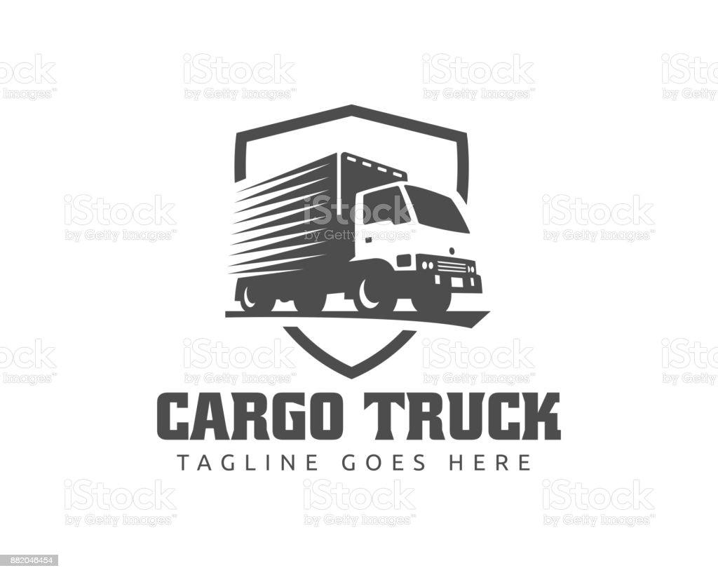 Lkw Abbildung Vorlage Perfekt Für Lieferung Fracht Und Logistik ...