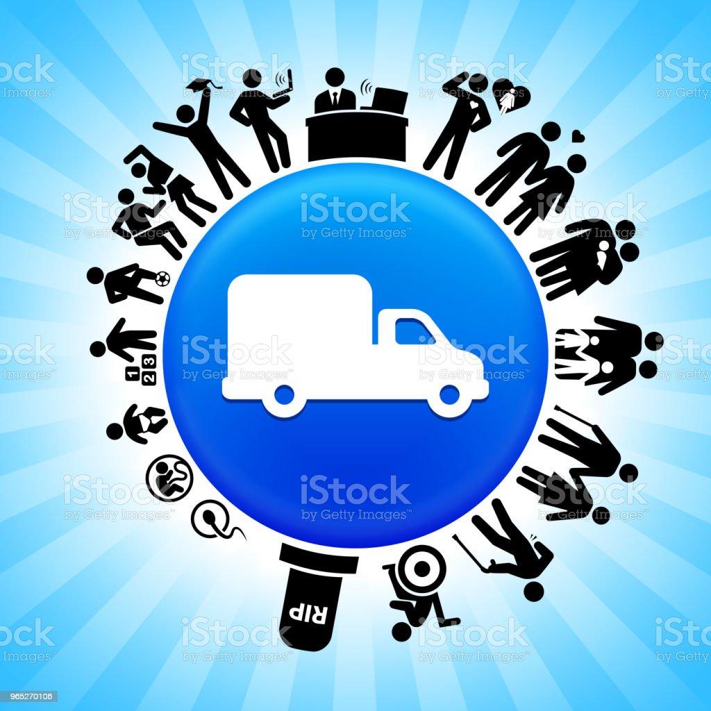 Truck  Lifecycle Stages of Life Background truck lifecycle stages of life background - stockowe grafiki wektorowe i więcej obrazów adolescencja royalty-free