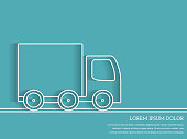 Truck Outline - Delivery Concept