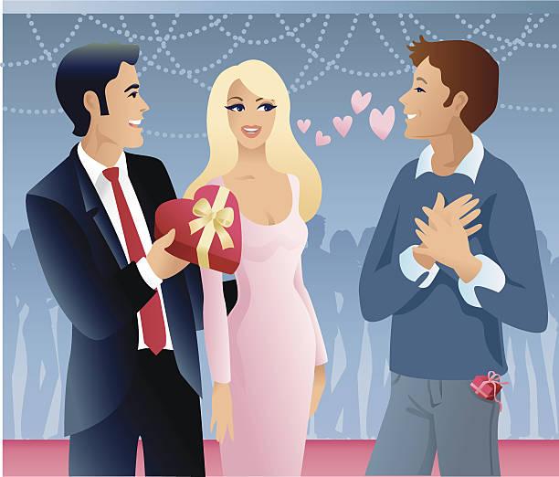 ilustrações de stock, clip art, desenhos animados e ícones de true love - mão no peito