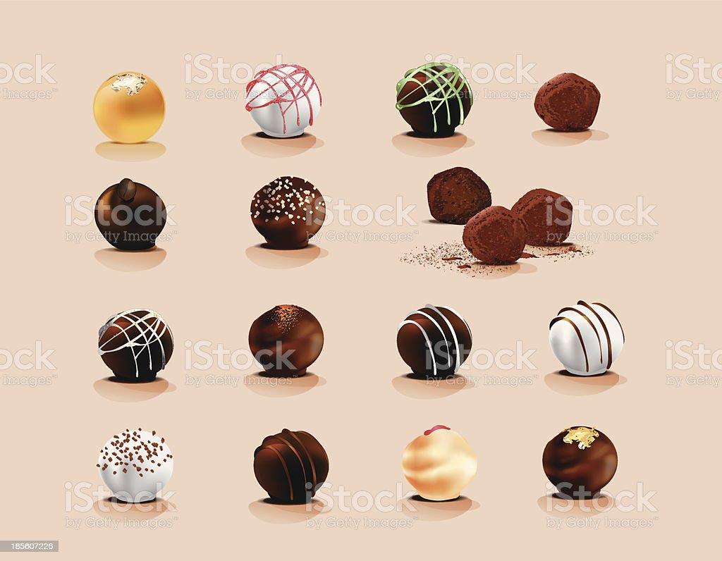 チョコレート トリュフ